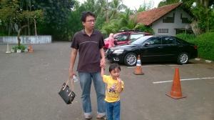 Ini abangku dan jafin
